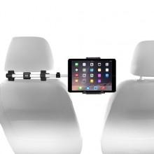 Car seat headrest mount - Alu - iPad/tablet