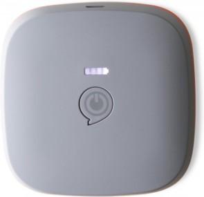ZENS Qi Draadloos Oplaadbare Powerbank 7800 mAh - Grijs