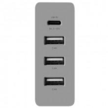 72W 4 port USB-C/USB-A wall charger - EU