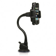 Adjustable car suction holder mount for iPhone and iPod