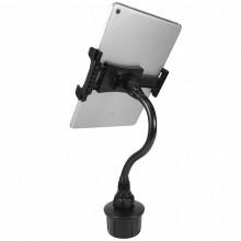 Car cup mount w. Flexible 8 /20 cm tablet holder