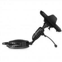 Adjustable car dashboard mount phone holder