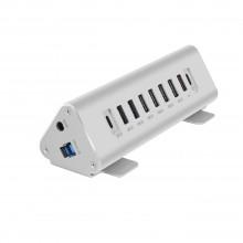 Macally USB-A hub/charger w. 7 USB-A + 2 USB-C - UK